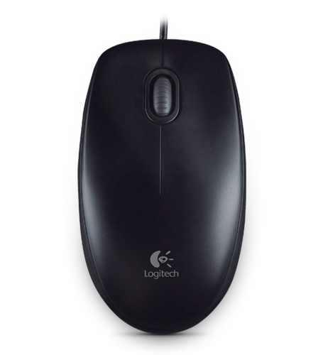 LOGITECH B100 otical Mouse black USB OEM