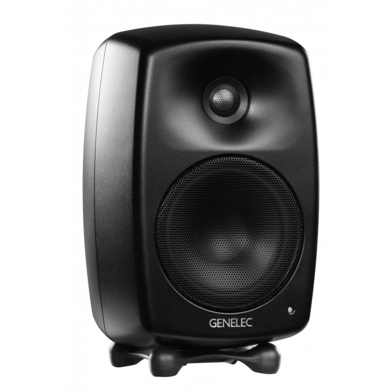 Genelec G three black musta