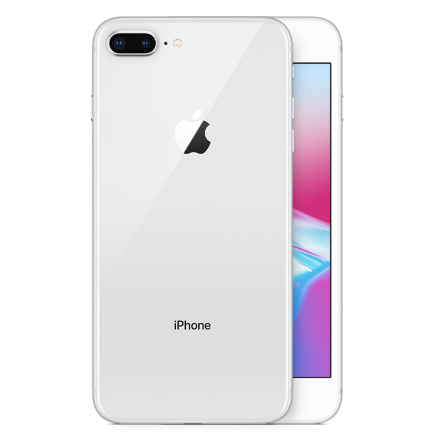 iPhone 8 Plus hopea takaa