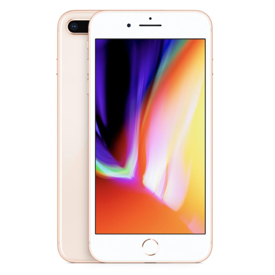 iPhone 8 Plus kulta edestä