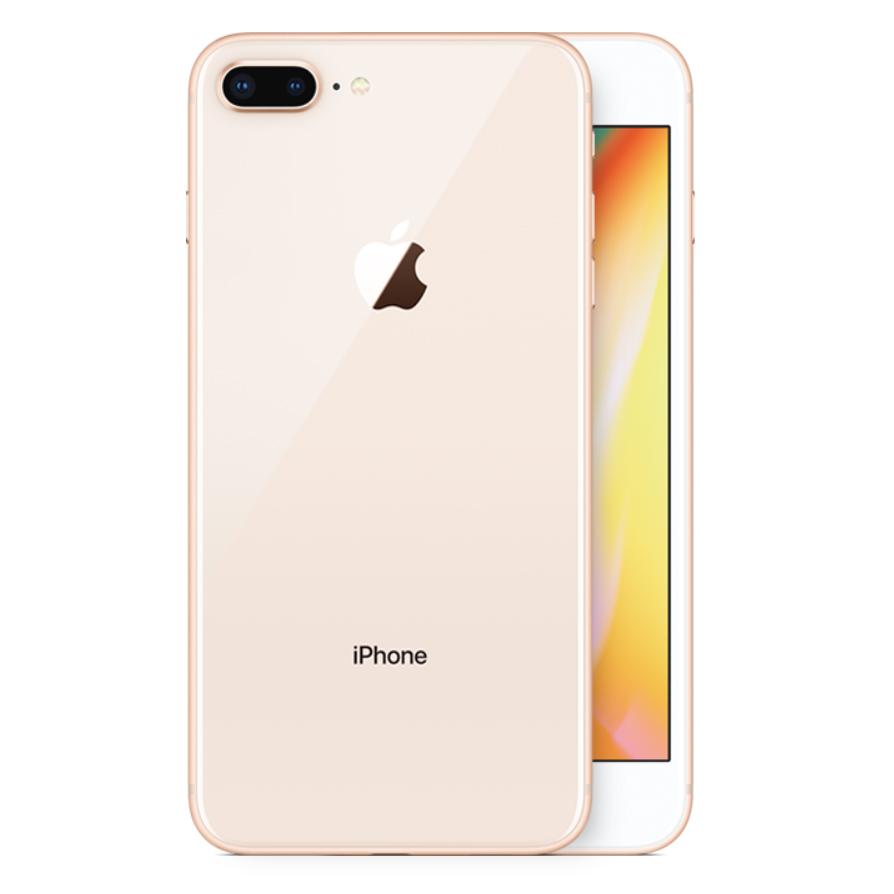 iPhone 8 Plus kulta takaa
