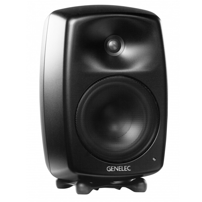 Genelec G four black musta