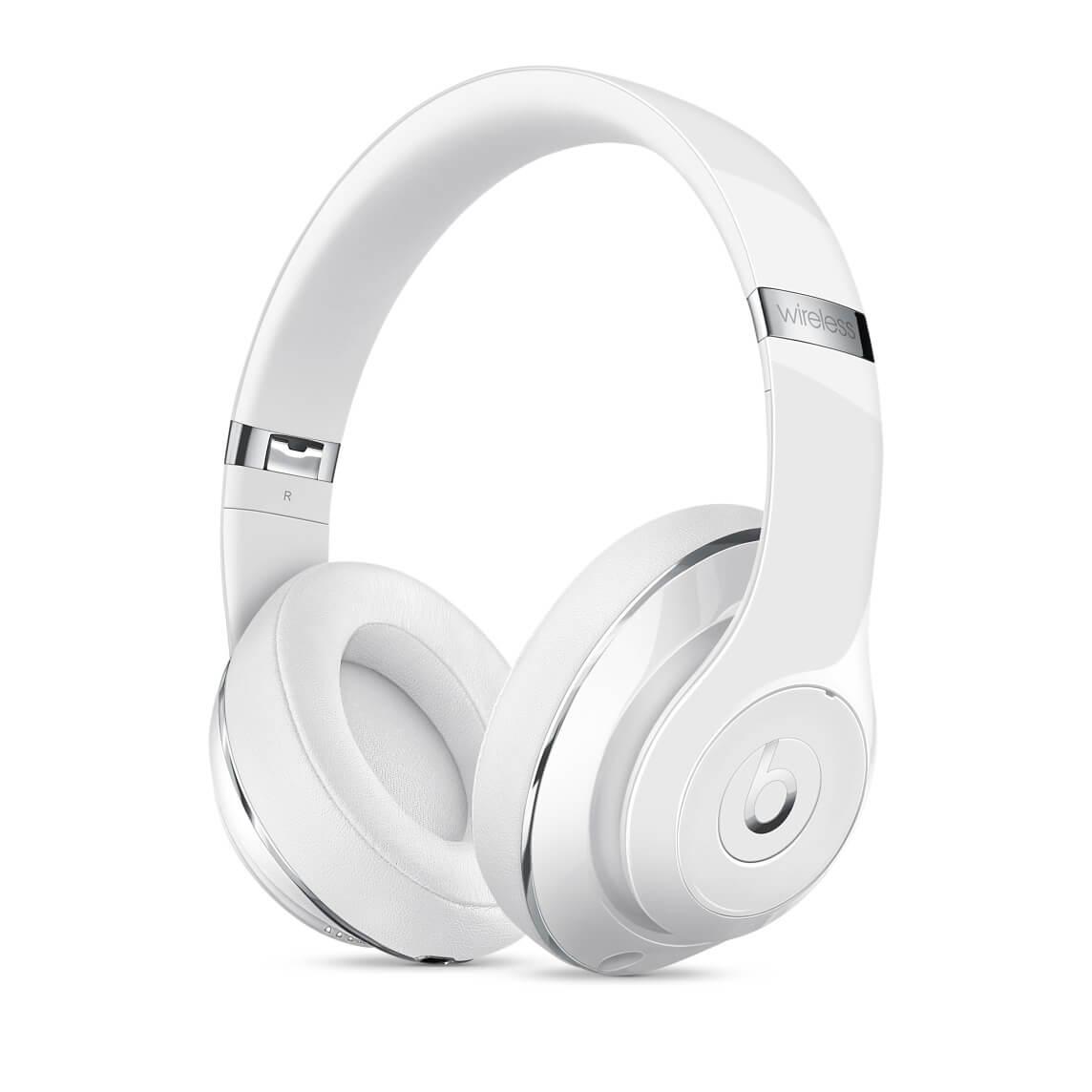 Beats Studio Wireless Over-Ear -kuulokkeet - kiiltovalkoinen