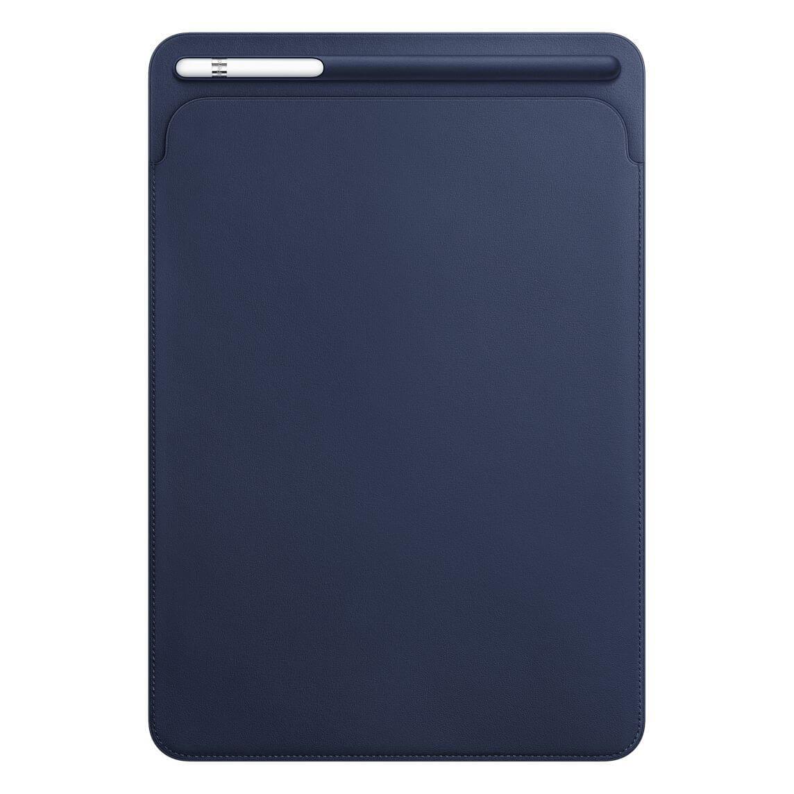 """Nahkatasku iPad Prolle 10,5"""" - yönsininen"""