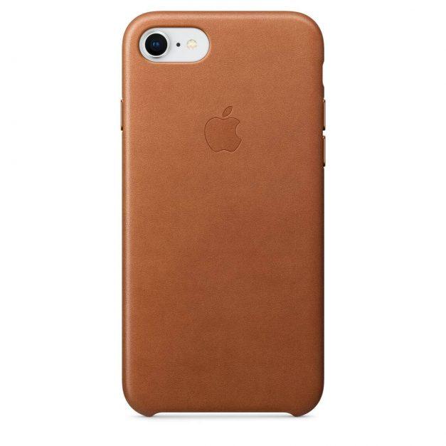 iPhone nahkakuori satulanruskea