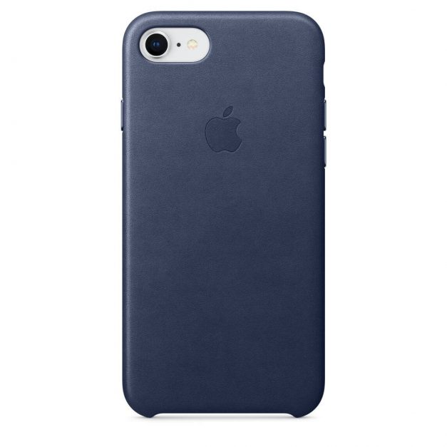 iPhone nahkakuori yönsininen