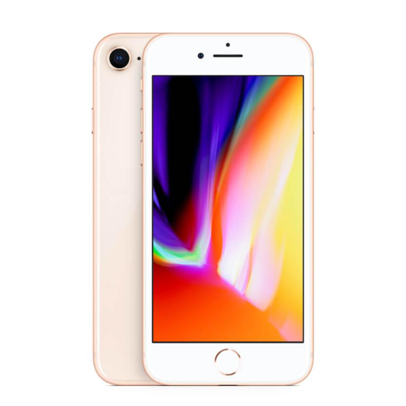 iPhone 8 kulta edestä