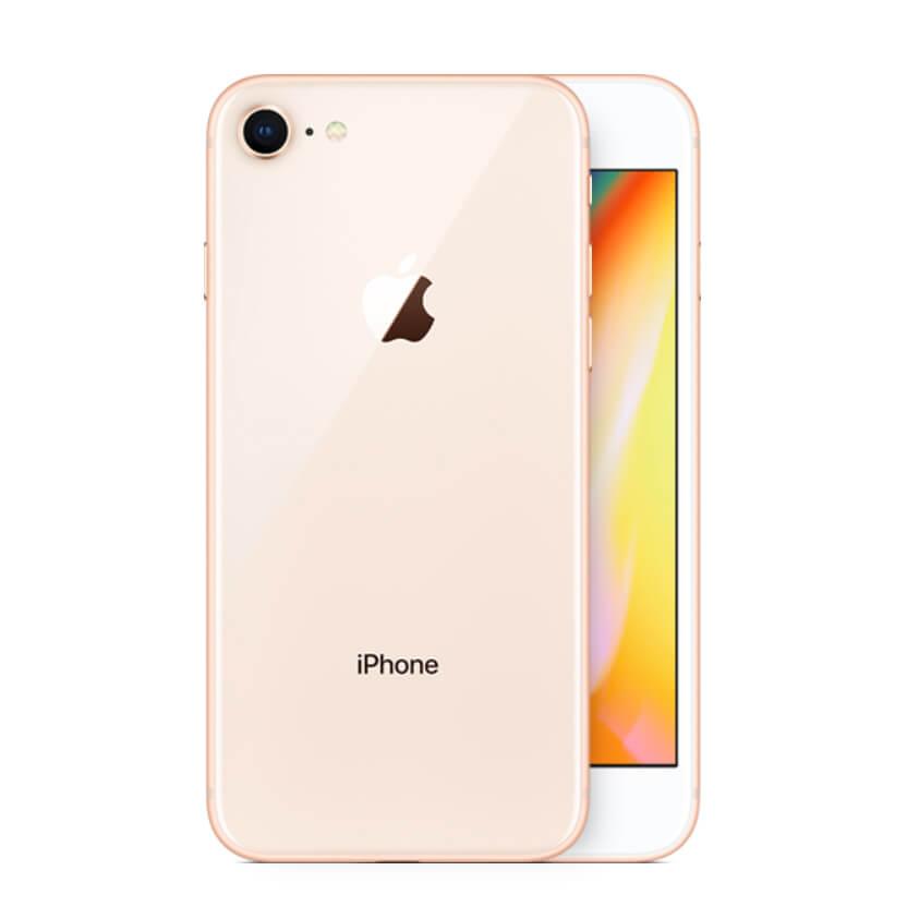 iPhone 8 kulta takaa