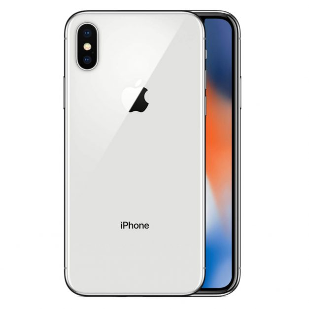 iPhone X hopea takaa