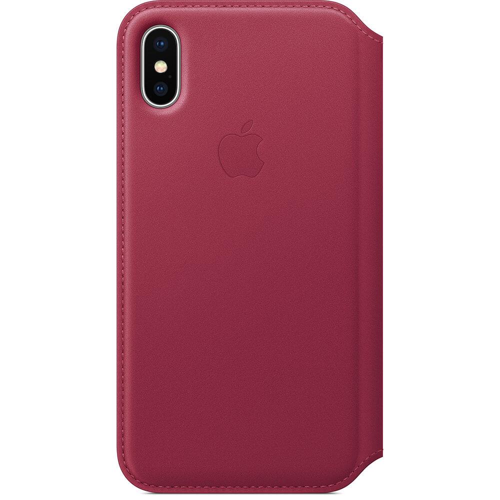 Nahkakotelo iphone X - Karpalo