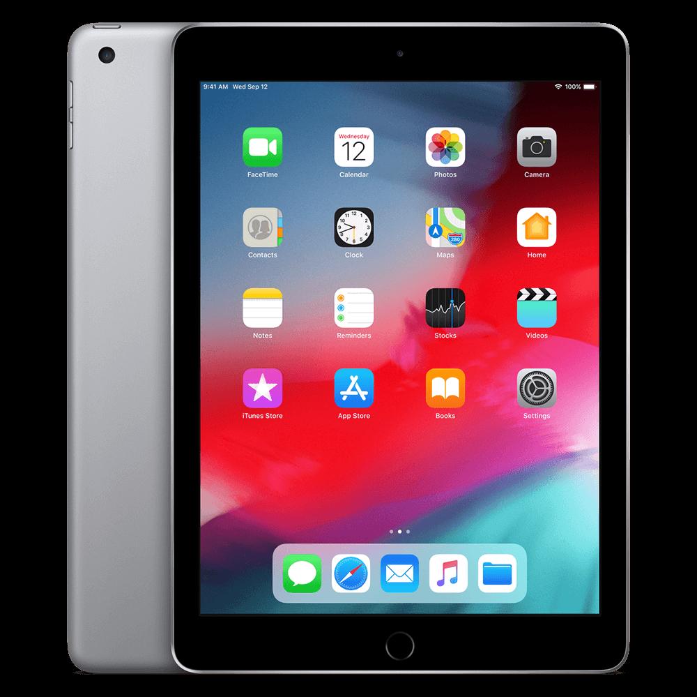 """iPad 9,7"""" 2018 tähtiharmaa"""